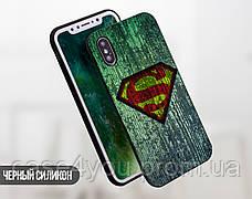 Силиконовый чехол для Meizu M6 Note Супермен (21032-3019), фото 2