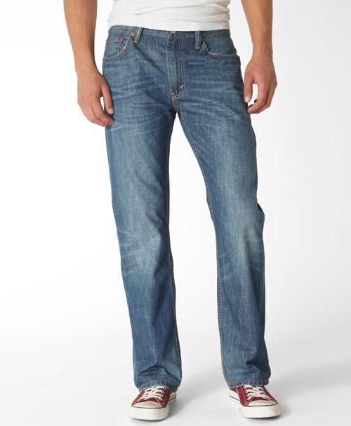 Мужские джинсы LEVIS  505® Straight Jeans  blue collar