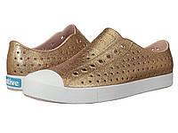 Кроссовки/Кеды (Оригинал) Native Shoes Jefferson Bling Rose Gold Bling/Shell White, фото 1