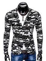 Мужской Мужской кэжуал пиджак P90 - камуфляжный M, Разноцветный