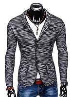 Мужской Мужской кэжуал пиджак P89 - черный M, Черный
