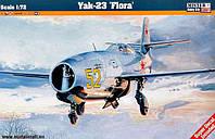 1:72 Сборная модель самолета Як-23, Mastercraft D224