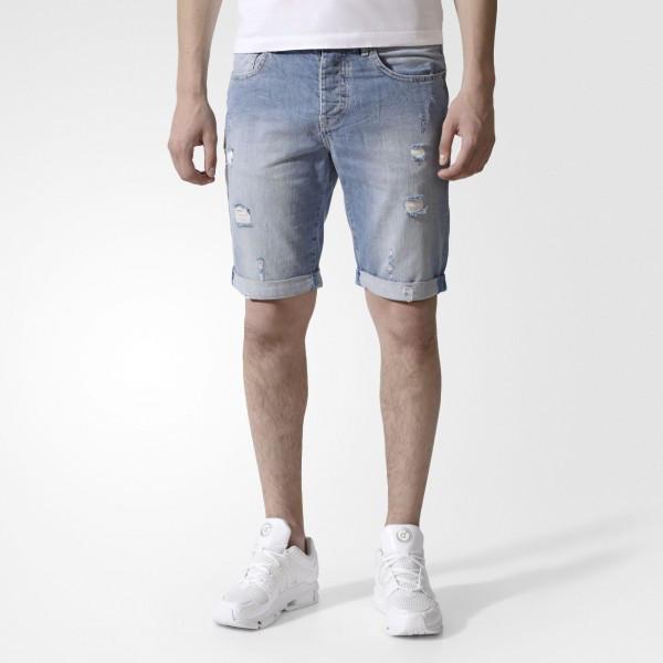 Мужские шорты Adidas Originals Extra Light Denim (Артикул: AE3662)