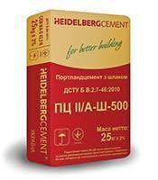 Цемент М-500 HeidelBerg ПЦ II/А-Ш (25кг)