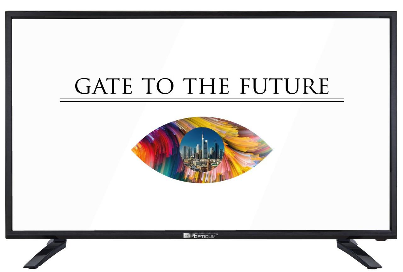 Телевизор Opticum HD32P023T(60Гц, HD, Dolby Digital 2 x 8Вт, DVB-C/T2/S2)
