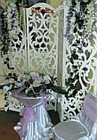 Композиция бело-лиловая на стол, фото 3