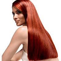 Коррекция длины волос в одну линию простая, по ровной линии