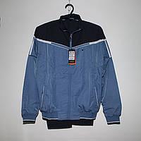 Чоловічий синій спортивний костюм плащівка під гумку Туреччина 4013, фото 1