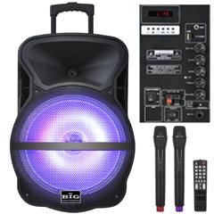 Автономная акустическая система Big BIG300BAT (300Вт)
