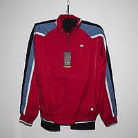 Мужской красный спортивный костюм плащевка под резинку Турция 4024, фото 1