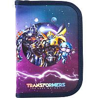 Пенал школьный Kite одинарный с отворотом 621 Transformers