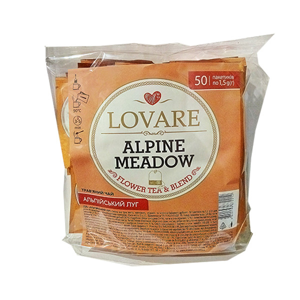 Чай Lovare Альпийский луг 50 пак