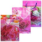 Пакеты Подарочные Пластиковые с Розами HL-E620 17 см * 12 см * 5,5 см (малый), фото 3