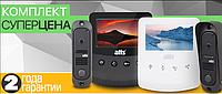 Комплект Видеодомофон + панель ATIS AD-430W Kit box