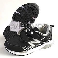 Кроссовки для мальчика черные с белым KLF 34р.