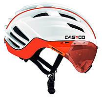 Велошлем Casco SPEEDster-TC Plus white-orange