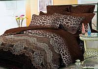 Двуспальное постельное белье полиСАТИН 3D (поликоттон) 85082