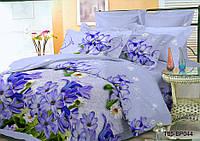 Полуторное постельное белье полиСАТИН 3D (поликоттон) 85044