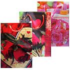 Пакеты Подарочные Пластиковые с Розами HL-E652 17 см * 12 см * 5,5 см (малый), фото 2