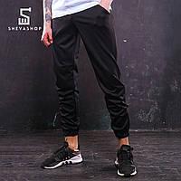 Спортивные штаны с лампасами мужские ТУР Rocky, чёрные