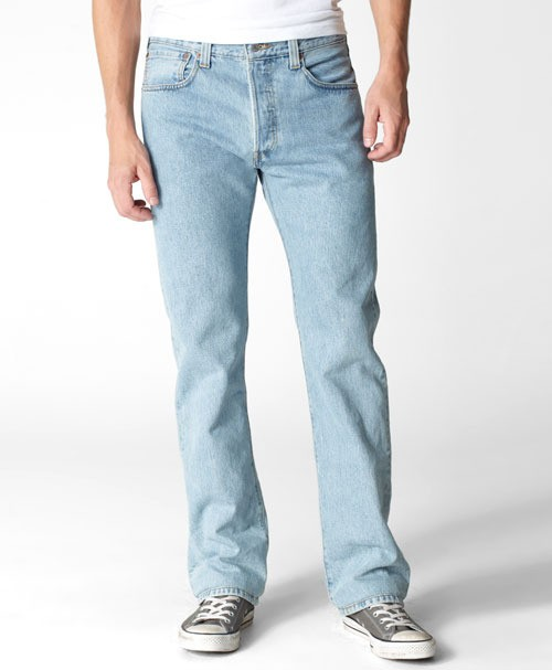 Мужские джинсы LEVIS 505® Straight Jeans  light stonewash