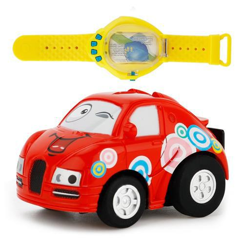Радиоуправляемая игрушка CREATE TOYS MINI VEHICLE Мини машинка в часах на р/у, управление голосом (SUN0380)