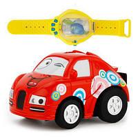 Радиоуправляемая игрушка CREATE TOYS MINI VEHICLE Мини машинка в часах на р/у, управление голосом (SUN0380), фото 1