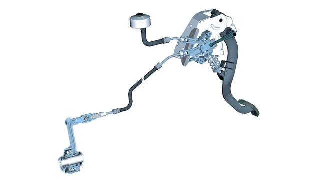 Главный цилиндр сцепления и управление сцеплением Renault Scenic 3, Grand Scenic 3