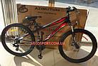 Подростковый велосипед Azimut Extreme 24 GD черно-красный, фото 2