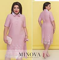 Платье от ТМ Minova большой размер Производитель Украина доставка в Россию СНГ р. 52-58