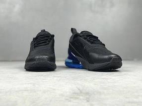Мужские кроссовки Nike Air Max 270 Black Blue, фото 3