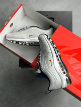 Женские кроссовки Nike Air Max 97 Swarovski Grey, фото 3