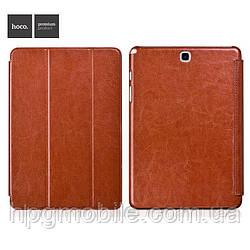 """Чехол для Samsung Galaxy Tab A 8.0"""" T350/T355 - Hoco Crystal Classic Series, коричневый"""