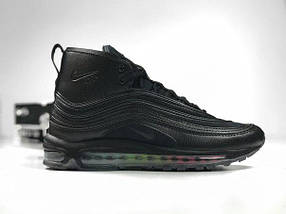 Мужские кроссовки Nike Air Max 97 Black Euro Winter, фото 2