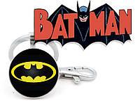 Брелок с изображением логотипа Бэтмена Batman DC комиксы