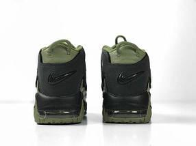 Мужские кроссовки Nike More Uptempo Dark Stucco ( Khaki ), фото 3