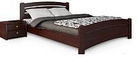 """Двуспальная кровать из массива дерева """"Венеция"""""""