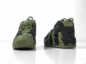 Женские кроссовки Nike More Uptempo Dark Stucco ( Khaki ), фото 2