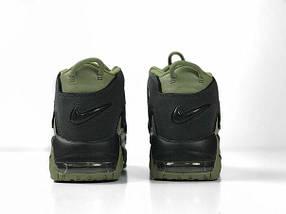 Женские кроссовки Nike More Uptempo Dark Stucco ( Khaki ), фото 3
