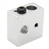 Алюминиевый нагревательный блок hotend MK8 | Комплектующие для 3D – принтера