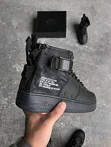 Кроссовки Nike Special Field Air Force 1 Mid Black 01, фото 3