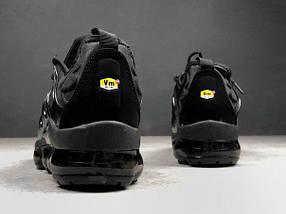 Мужские кроссовки Nike air VaporMax TN Black, фото 3