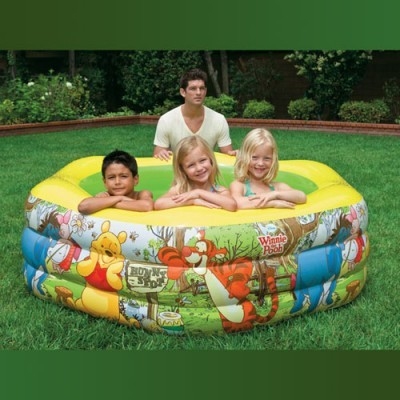 Детский надувной бассейн Винни Пух