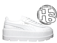 Женские кроссовки Puma x Fenty by Rihanna Cleated Creeper White f88a2bb92260b