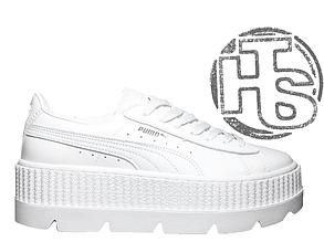 Женские кроссовки Puma x Fenty by Rihanna Cleated Creeper White