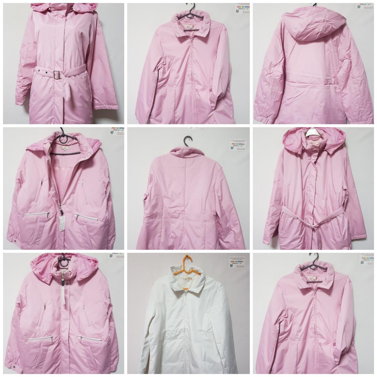 Куртка женская весна на тонком пуху