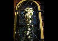 Свадебное оформление храмов, церемонии венчания цветами, Киев