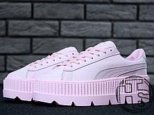 Женские кроссовки Puma x Fenty by Rihanna Cleated Creeper Pink ... 1d738536d2c62
