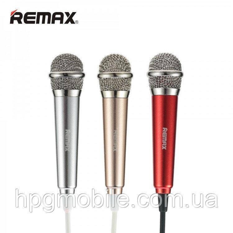 Микрофон REMAX Sing Song K Microphone RMK-K01, разные цвета, оригинал - HPG Mobile. Комплектующие, запчасти, аксессуары и другие товары по лучшим ценам в Харькове