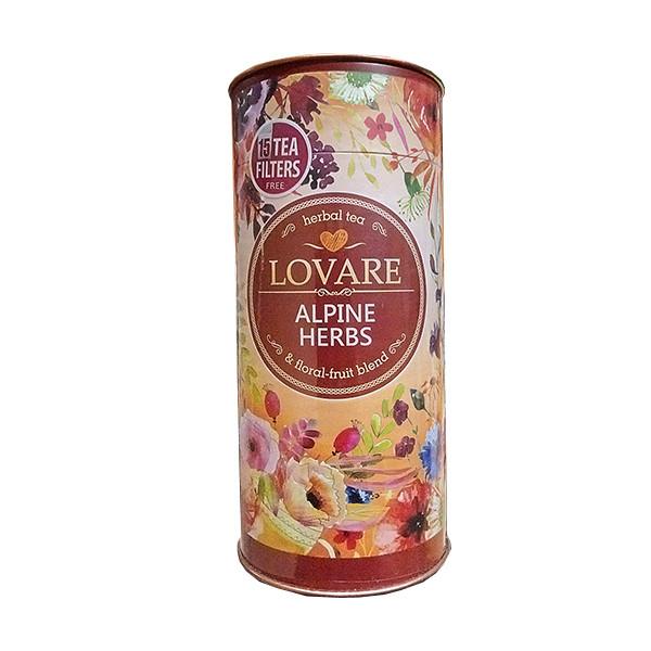 """Чай Lovare """"Альпийские травы"""" 80г"""